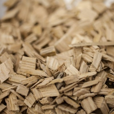 Chêne français - chauffe : non-chauffé - taille : moyenne - 1 kg - CA