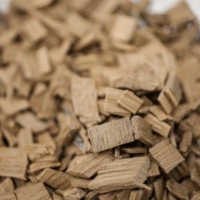 Chêne us - chauffe : légère - taille : moyenne - 1 kg - CA