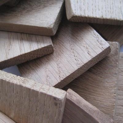 Chêne français - chauffe : légère - taille : bloc - 1 kg - CA