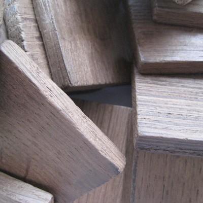 Chêne français - chauffe : moyenne - taille : bloc - 25 kg - SA